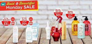 Bold Beautiful Monday Sale At Watsons Offers Valid From July 13 15 201569893 69893
