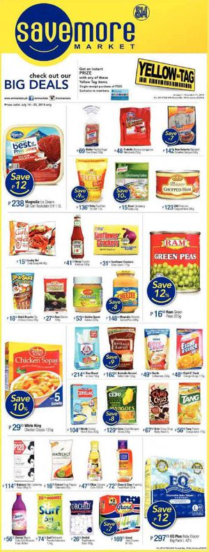 Check Out Our Big Deals At Savemore Market Offers Valid Till July 23 2015 69896