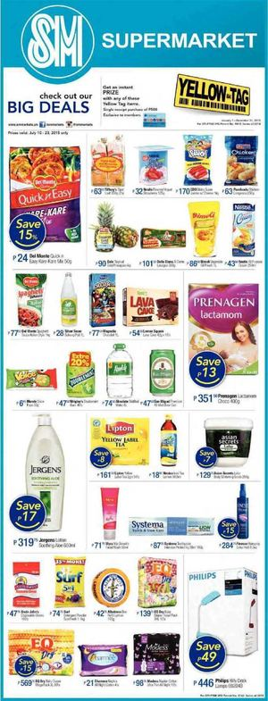 Check Out Our Big Deals At Sm Supermarket Offers Valid Till July 23 201569895 69895