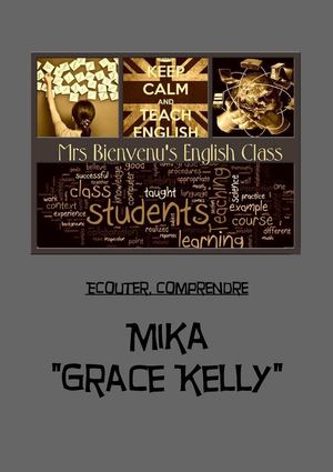 Mika; Grace Kelly-Worksheet