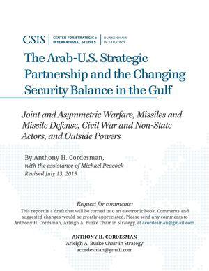 Calaméo - The Arab-U S  Strategic Partnership and the