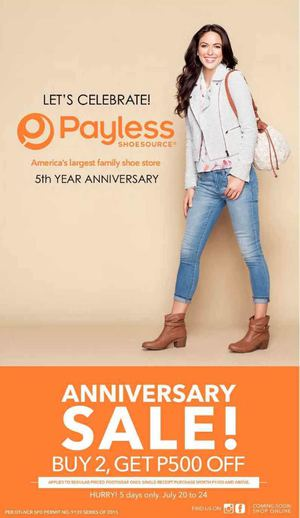 Anniversary Sale At Payless Shoesource