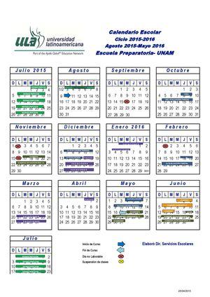 Calamo profe castillo calendario escuela preparatoria unam 15 16 141014 2 ccuart Choice Image