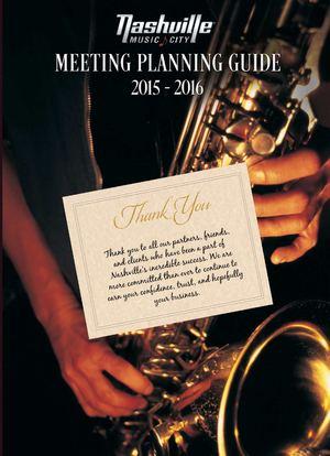 Nashville Meeting Planning Guide 2015 16