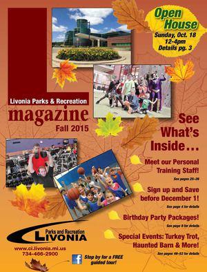 3d8406eb5a Calaméo - Livonia Parks   Recreation Fall 2015