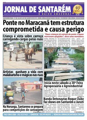 JORNAL DE SANTARÉM E BAIXO AMAZONAS EDIÇÃO DE 31 DE JULHO A 06 DE AGOSTO DE feeeb89ca9eb1