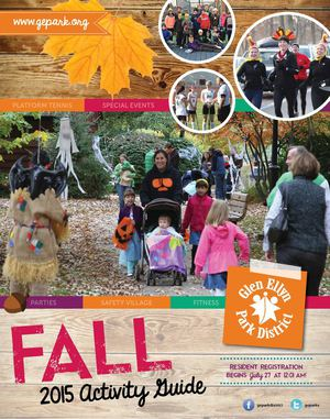 2015 Fall Activity Guide