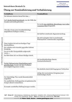 this - Nominalisierung Beispiele