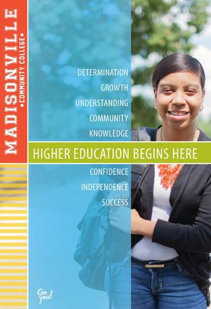 Madisonville Community College Viewbook- Traditional (ages 17-24)