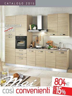 Mondo Convenienza Cucina Stella Pino Chiaro.Calameo Catalogo Cucine Mondo Convenienza 2015
