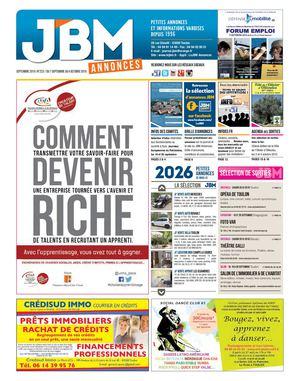 Calaméo - Journal JBM Annonces n°223 Septembre 2015 e71b851ea5c2