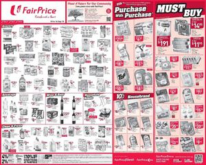 Your Weekly Savers At Fairprice Offers Valid From September 10 16 201572208 72208