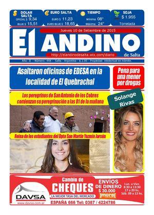b25a55edb Calaméo - DIARIO EL ANDINO DE SALTA 10 09 15