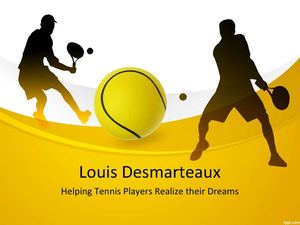 Louis Desmarteaux: Helping Tennis Players Realize their Dreams