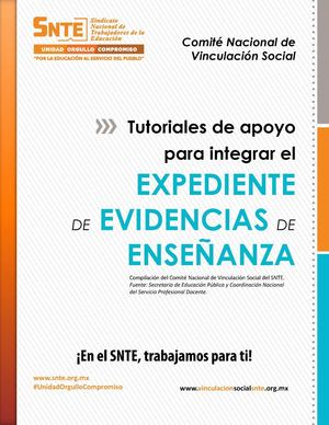 4. Folleto Expediente Evidencias