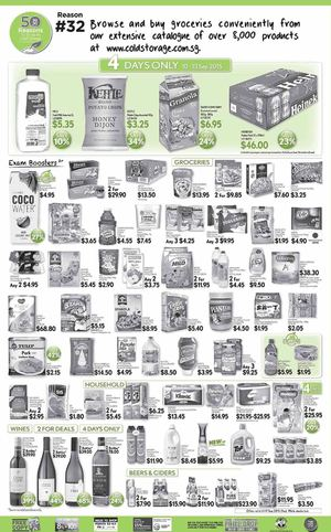 Best Quality Products Available At Cold Storage Offers Valid Till September 17 2015 72290