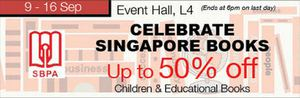 Celebrate Singapore Books Up To 50 Off At Isetan Scotts From September 9 16 201572309 72309