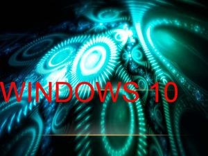 Windows 10 Luz