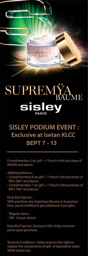 Supremya Baume Exclusive At Isetan The Gardens From September 7 13 2015 72322