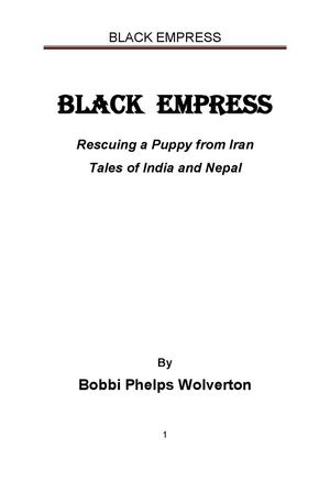 Black Empress Bobbi Phelps Wolverton