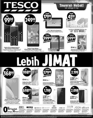 Tawaran Hebat At Tesco Offers Are Valid Till September 16 201572332 72332