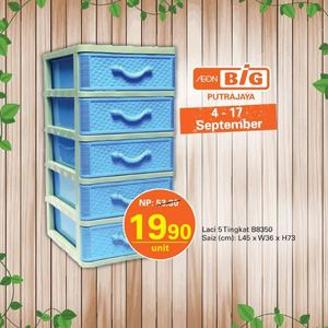 Laci 5 Tingkat B8350 For Rm19 90 At Aeon Big Valid From September 4 17 201572366 72366