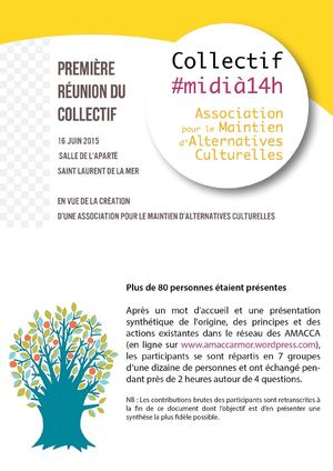 Collectif #Midia14h Synthese 16 Juin 2015