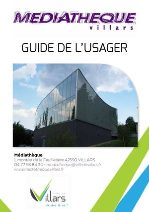 Guide De L'usager Sept 2015