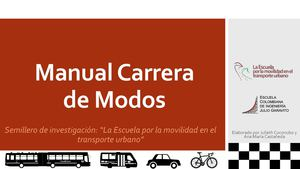 Manual Carrera De Modos