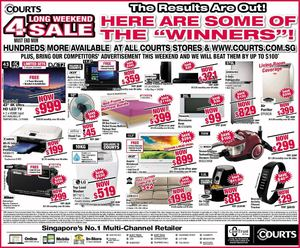 Hundreds More Deals Available At All Courts Stores Till September 14 2015 72372