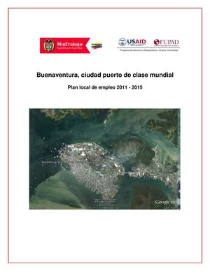Plan Local De Empleo De Buenaventura 2012