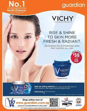 Vichy Promotion At Guardian Pharmacy Offer Valid Till September 16 2015 72392