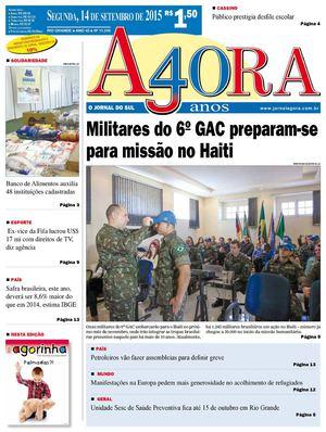 Calaméo - Jornal Agora - Edição 11245 - 14 de Setembro de 2015 ebbb637a12