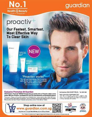 Proactiv Promotion At Guardian Pharmacy Offer Valid Till September 16 2015 72391