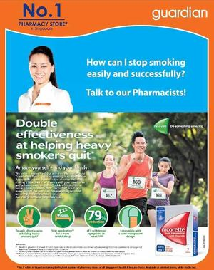 Nicorette Available At Guardian Pharmacy Offer Valid While Stocks Last 72398