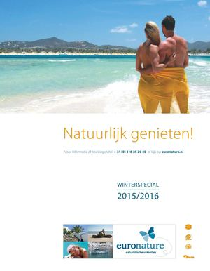 Euronature winterbrochure 2015/2016