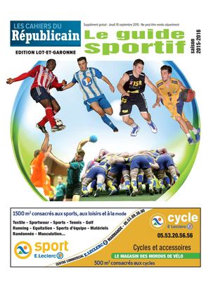 GUIDE SPORTIF 47 24pages