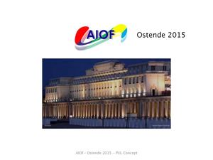 Conference Pul Congres Aiof Ostende 2015