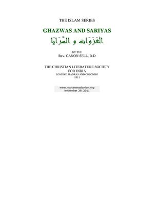 Ghazwas And Sariyas