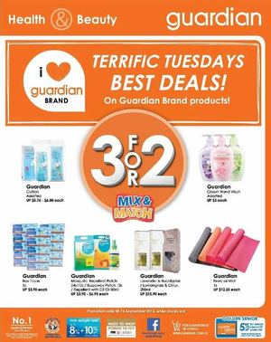 Terrific Tuesday Best Deals On Guardian Brand Products Valid On September 15 2015 72424