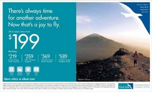 All In Return Fares From 199 At Silkair Book By September 27 201572425 72425
