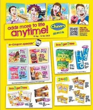 Add More To Life Anytime At Cheers Offers Valid Till October 12 201572426 72426