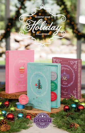 Scentsy Christmas Holiday catalog 2015