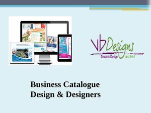 Hire Designers For Business Catalogue Designs