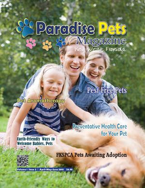 Paradise Pets Magazine Key West, FL  Apr/May/June 2015
