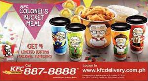 Get 4 Limited Edition Colonel Tumblers At Kfc Till October 12 201572452 72452