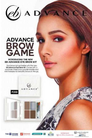 Introducing The New Eb Advance Eye Brow Kit For Only P200 While Stocks Last72474 72474