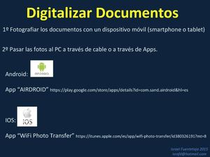 Digitalizar Documentos