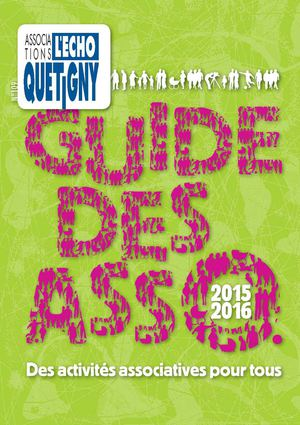 Guide des associations 2015-2016