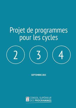 4319adbf6f89e5 Calaméo - Programmes Cycles 2 3 4 469229